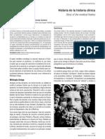 Historia de la Historia Clinica