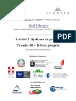 A5 10 Beton Projete