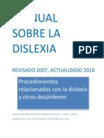 Manual Sobre La Dislexia - Desconocido