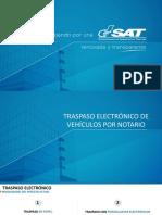 Traspaso Electronico de Vehículos Por Notario en Agencia Virtual