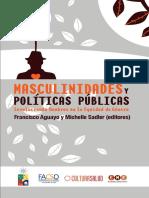 Adler y Aguayo (2011) Masculinidades y Politicas Publicas