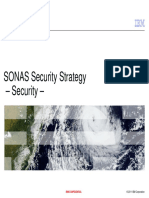 SONAS Security Strategy - Security