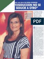 Sordo, P. (2010) Sin Seduccion No Se Puede Seducir a Otro. Revista Vea