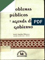 Problemas Públicos y Agendas de Gobierno LIBRO Aguilar Villanueva