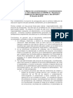 Memorial Explicativo Presupuesto UPR  VotoCC-JU