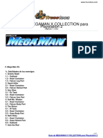 Guia Trucoteca Megaman x Collection Playstation 2