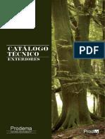 Catalogo Enchap.-madera Extriores