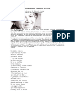 Biografia de Gabriela Mistral