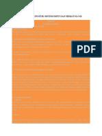 Pemeriksaan Diagnostik Sistem Imun Dan Hematologi