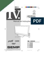 Manual TV Toshiba Lc4245w