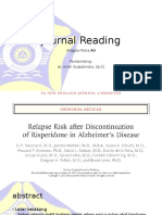 Relapse Risk After Discontinuation of Risperidone in Alzheimer Disease.pptx