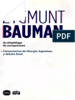 BAUMAN, Zygmunt- Archipielago de Excepciones