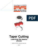 TAPER CUTTING - Learning the Basics