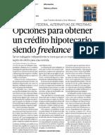 24/01/2017 Opcionesparaobtener uncréditohipotecario siendofreelance.