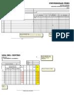 Modelo Registro de Notas 2014-II