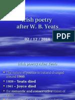 5) Irish Post- Yeatsian