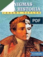 Enigmas de La Historia - Jeremy Taylor