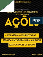 eBook Como Aumentar Seus Resultados Investindo Em Acoes (Trendfitinvest.com.Br)