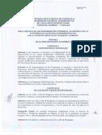 Reglamento Del Personal Academico.