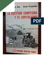 Samir Amin y Kostas Vergopoulos 1980- La cuestión campesina y el capitalismo