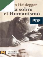 HEIDEGGER, Martin, Cartas sobre el Humanismo.pdf