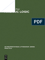 (de Proprietatibus Litterarum. Series Practica 11) Prier, Raymond a.-archaic Logic. Symbol and Structure in Heraclitus, Parmenides and Empedocles-De GRUYTER MOUTON (1976)
