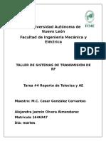 Reporte de la unidad móvil de transmisión de Televisa taller de RF.docx