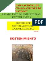 Tema-sistemas de Sostenimiento