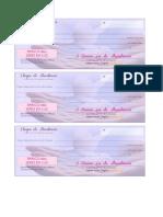 CHEQUES DA ABUNDANCIA Para Imprimir - By Lucy Sem Fronteiras