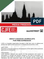 Mainstreet - CJFE