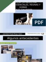 Dinamizar La Industria de las aromáticas medicinales en El Salvador. 2011