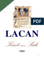 Kant Avec Sade