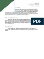 BE497_ Individual Activity Report_ Pravallika Kollipara