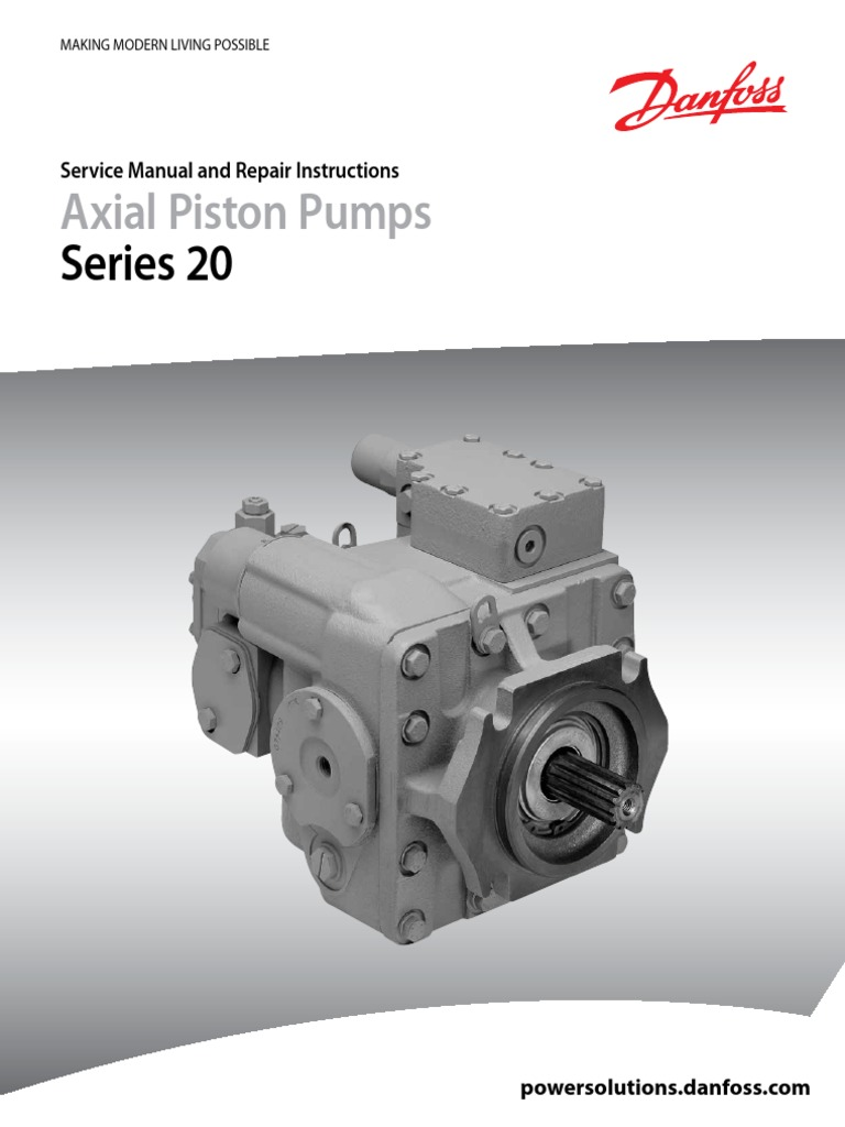 SAUER SUNDSTRAND Series 20 AXIAL PISTON PUMP MOTOR Service Manual repair owner