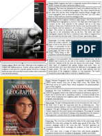 magazine cover annotations
