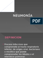 pneumonia en pediatria