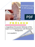 Argentina's Economic Reforms of the 1990s in Contemporary and Historical Perspective Prólogo en Español Domingo Cavallo 2017 Edición Con Fines Académicos Big Madero Portal de Noticias de Buenos Aires