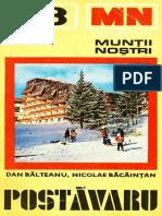 Balteanu D & Bacaintan N - Muntii Postavaru Ghid Turistic