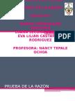Exposición Cálculo 2 Prueba de La Razón