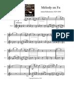 Dueto Em Flauta
