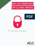 Defendiendo DDHH en La Era Digital Cifrado ADC