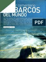 Pecios costas españolas