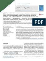 Effects of Antihistamin e on Up-regulation of Histami Ne H1 Receptor