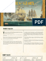 Sails of Glory Ship Point_Values