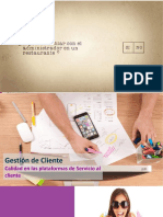5-Gestión de Cliente-Plataformas de Servicio