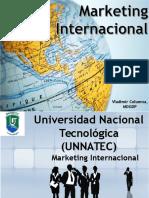 El Entorno en El Marketing Internacional Vladimir Columna