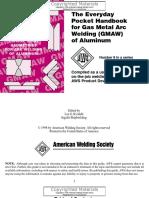 AWS Pocket Handbook 8 - The Everyday Pocket Handbook for GMAW of Aluminum