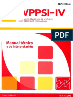 Manual Técnico wippsi IV
