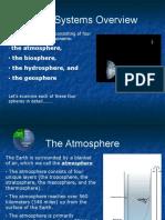 earths spheres