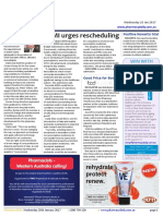 Pharmacy Daily for Wed 25 Jan 2017 - ASMI urges rescheduling, New Corum chief, Good Price for Bod, Health